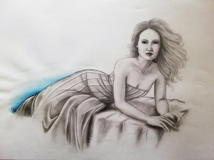 Bleistift & Aquarelltechnik